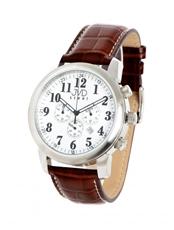 Pánské hodinky s chronografem JVD steel C03.2 + Dárek zdarma 173218ad60
