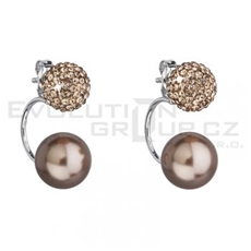 Náušnice Swarovski ELEMENTS 31178.3 brown