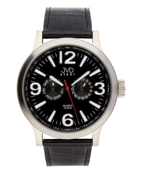 6415ad3ca40 Pánské hodinky JVD steel J1001.2 + Dárek zdarma