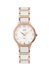 Keramické dámské hodinky JVD JG1001.2 + Dárek zdarma f4416264614