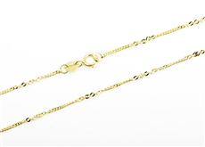 5064fd63a Řetízek ze žlutého zlata 45cm ZLR0682F + DÁREK ZDARMA