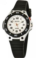 1e84d5cd040 Chlapecké vodotěsné hodinky Secco S DTT-007