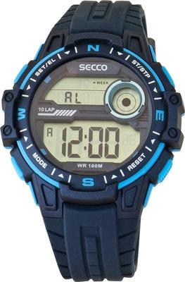 ec77cc40dd4 Pánské digitální hodinky Secco S DCY-003