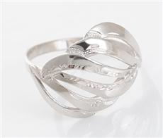 e7eec522e Dámský stříbrný prsten bez kamínků STRP0288F