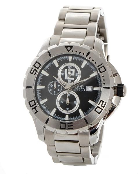 a3c5cfe4892 Pánské hodinky JVD steel JVDC 8831.1 + DÁREK ZDARMA
