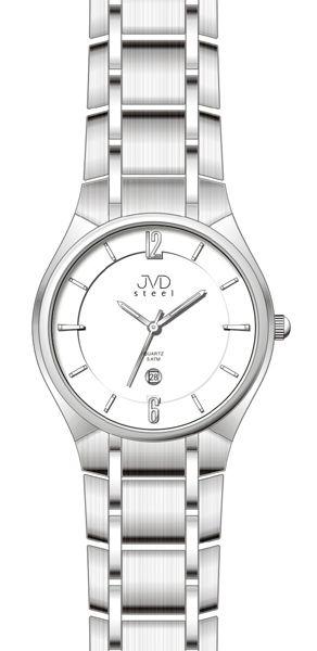 Náramkové hodinky JVD steel J1042.1 + DÁREK ZDARMA  37580fa6c7