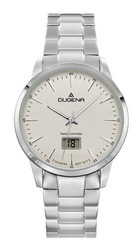 Pánské rádiem řízené hodinky Dugena 4460856 + DÁREK ZDARMA