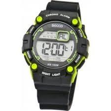 Pánské digitální hodinky Secco S DNS-005