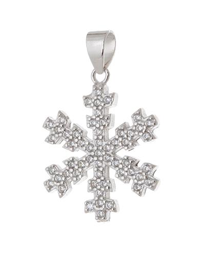 Stříbrný přívěšek sněhová vločka AGH238