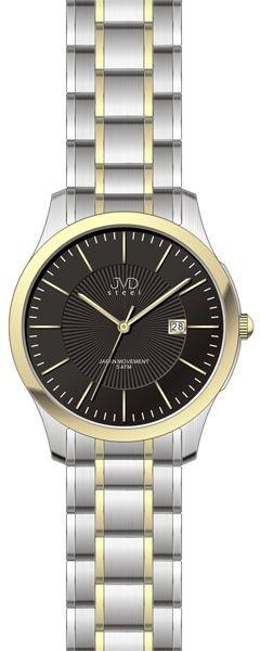 Pánské hodinky JVD steel J1058.3 + DÁREK ZDARMA  691efb9d68
