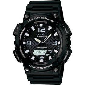 Pánské kombinované hodinky Casio AQ S810W-1A + DÁREK ZDARMA