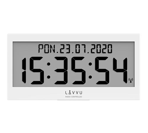 Rádiem řízené digitální hodiny LAVVU MODIG LCX0010 + dárek zdarma
