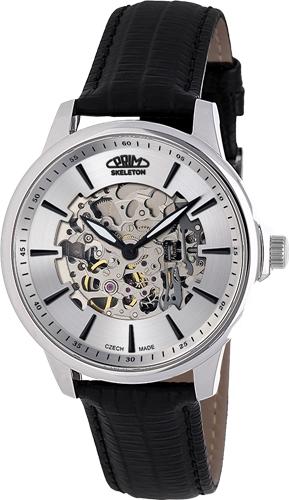 Pánské hodinky automaty Prim Skeleton 21 W01P.13140.B + Dárek zdarma